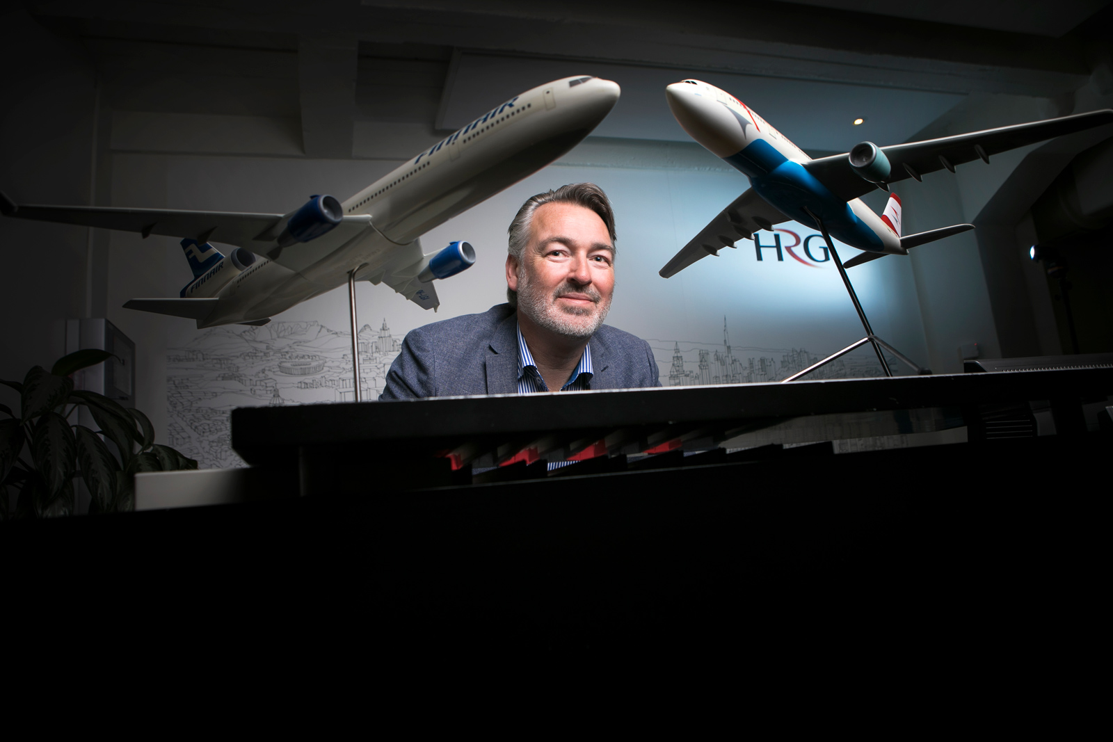 oachim Erenius, Managing Director of Business Travel Agency HRG